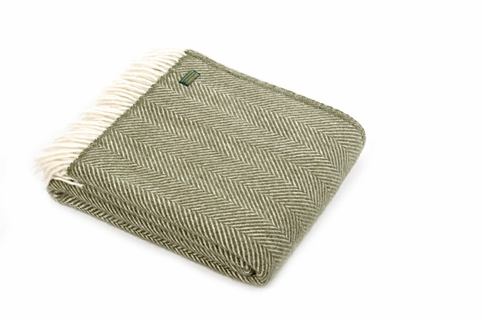Wool Blanket Online British Made Gifts Herringbone Wool Throw Fascinating Olive Green Throw Blanket