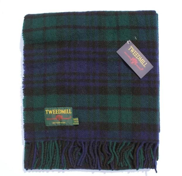 Wool Blanket Online. British Made Gifts. Tartan Knee Rug