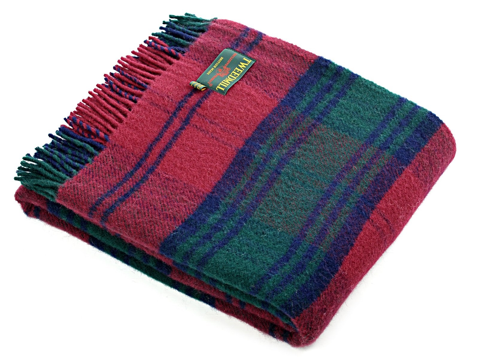 Wool Blanket Online British Made Gifts Lindsay Tartan