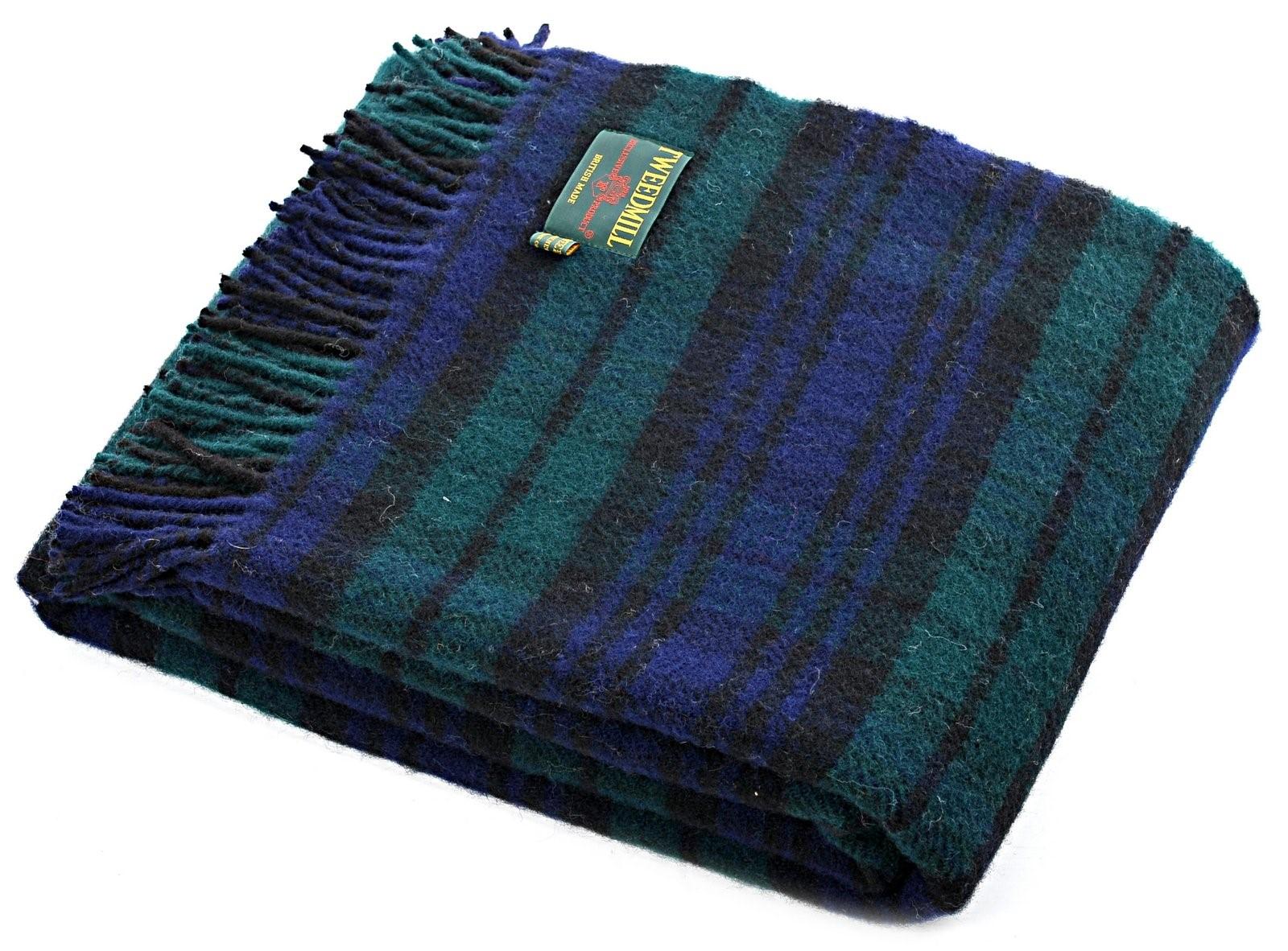 Wool Blanket Online British Made Gifts Black Watch
