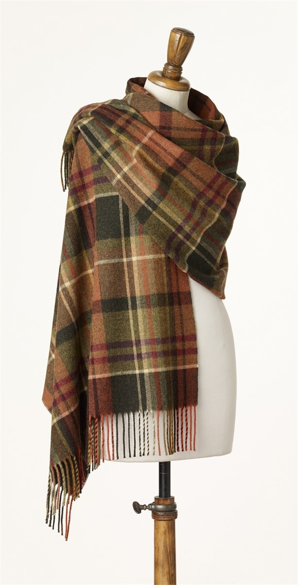 Wool Blanket Online British Made Gifts Lambswool Check